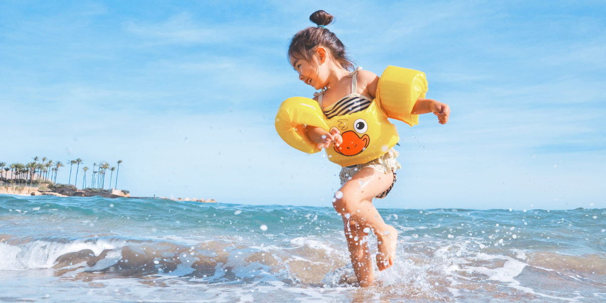 More sunscreen. Less screen-time.