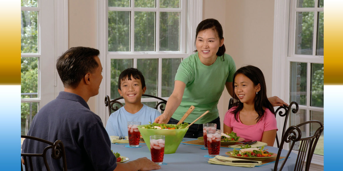Family Meals Promote Healthy Child Development